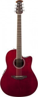 OVATION CS24-RR Celebrity Standard Mid Cutaway Ruby Red - электроакустическая гитара