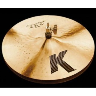 ZILDJIAN 14' K' CUSTOM DARK HI-HAT- тарелки (пара)